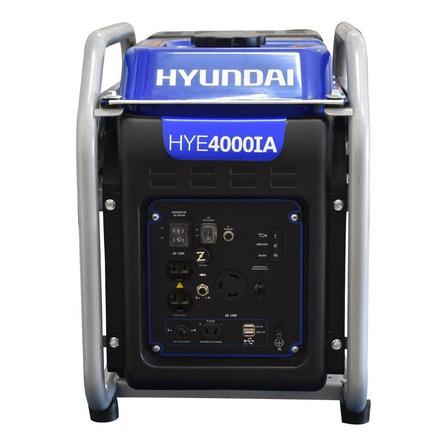 Generador portátil Hyundai HYE4000IA 4 kW con tecnología Inverter 110V