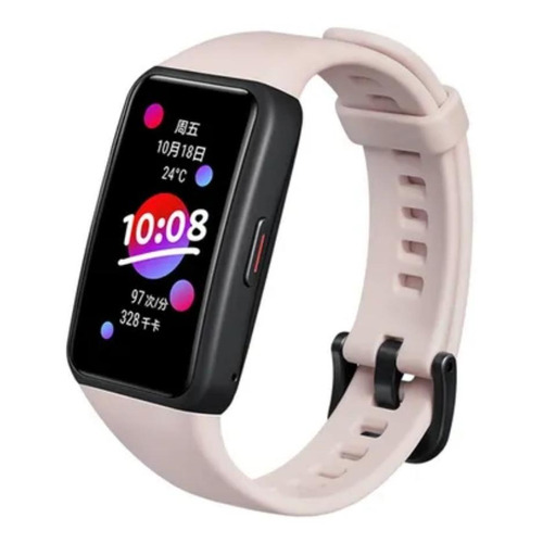 """Smartwatch Honor Band 6 1.47"""" malla  coral pink FRA-B19"""