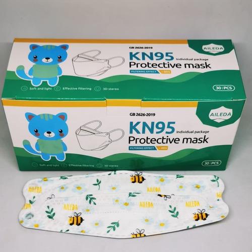 Mascarilla Kn95 New Style Kf94 Niños Y Niñas 30und