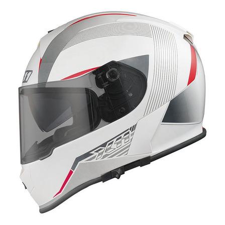 Capacete para moto  integral X11  Revo  branco tamanho 58