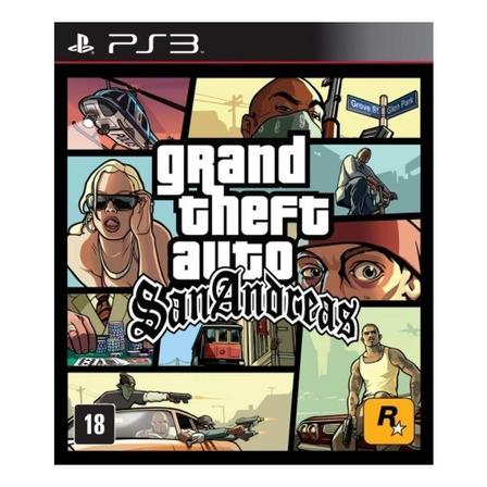 Grand Theft Auto: San Andreas Digital PS3 Rockstar Games