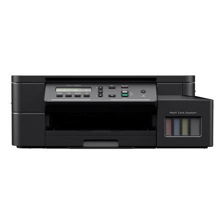 Impresora a color Brother DCP-T520W con wifi negra 100V - 120V