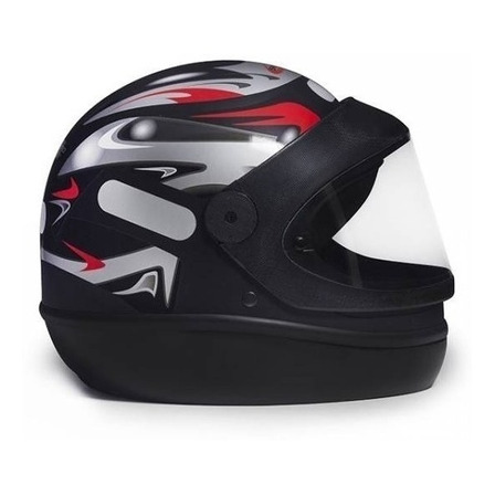 Capacete para moto integral San Marino Grafic preto-fosco tamanho 58