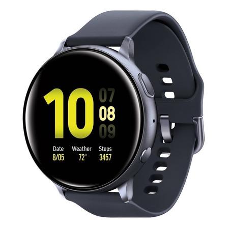 "Samsung Galaxy Watch Active2 (Bluetooth) 1.2"" caja 40mm de  aluminio  aqua black malla  aqua black de  fluoroelastómero SM-R830"