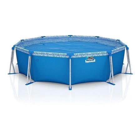 Pileta estructural redonda Pelopincho 1102 con capacidad de 5500 litros de 3.05m de diámetro