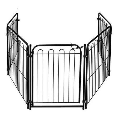 Kit Cercado Delimitador Com Portão Para Cães Pequenos