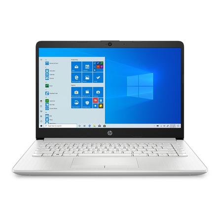 "Notebook HP 14-DK1022WM natural silver 14"", AMD Ryzen 3 3250U  4GB de RAM 128GB SSD, AMD Radeon Vega 3 1366x768px Windows 10 Home"