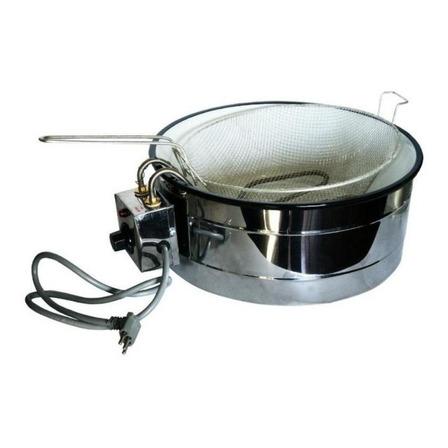 Fritadeira industrial elétrica Equipamentos Inox Tacho 3.5 L 220V