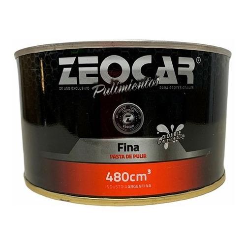 Zeocar Pasta Fina - Pasta De Pulir Fina - 480g