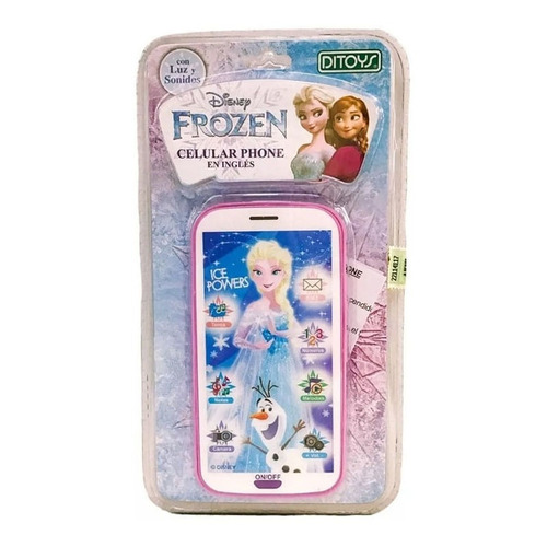 Celular Frozen Phone Original Disney