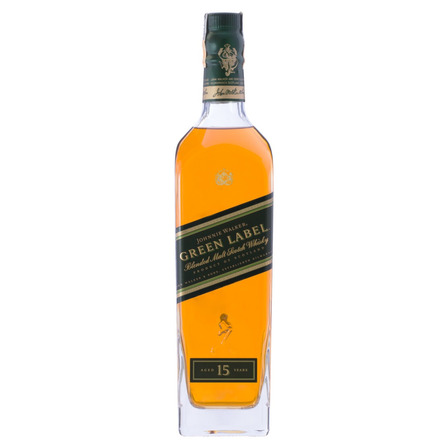 Uísque Blended Johnnie Walker Green Label 15 Reino Unido garrafa 750 mL