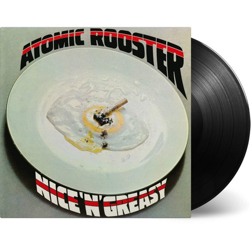 Atomic Rooster ¿- Nice ' N ' Greasy - Lp Vinyl - 8 Canciones