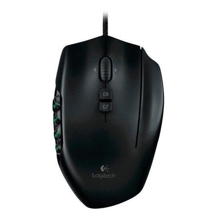 Mouse para jogo Logitech G600 G Series preto