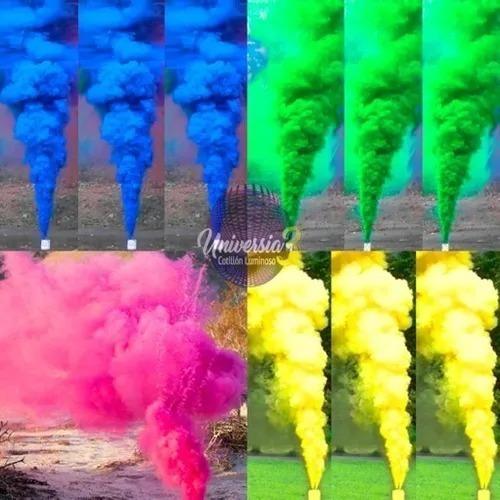 Bengala Bomba De Humo De Colores Fuegos Artificiales X 5