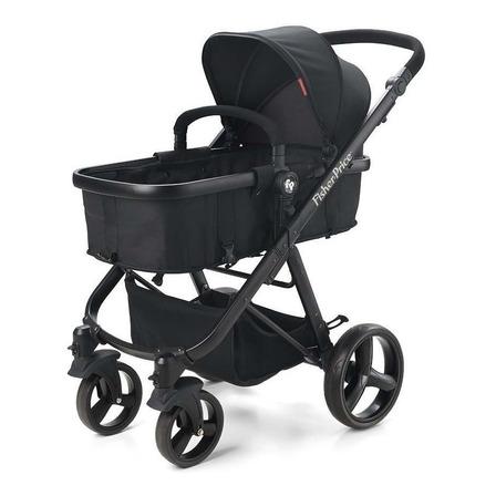 Carrinho de bebê Fisher-Price Hero de passeio preto