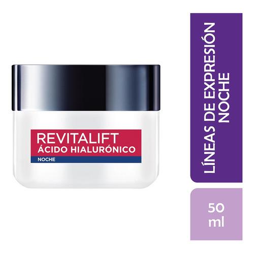 Crema Anti Arrugas Noche Revitalift Ácido Hialurónico 50ml