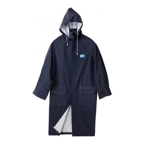 Capa Para Lluvia Ombú Talles M Al Xxxl ( Azul )