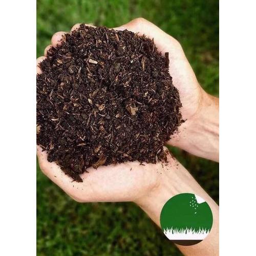 Tierra Negra Mantillo Orgánica 35 L - Plantas - Envíos X 2