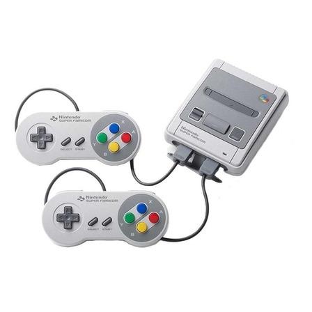 Nintendo Super NES Classic Mini 512MB cor  cinza