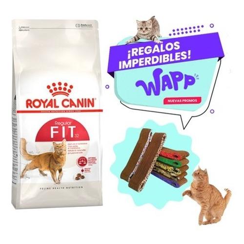 Alimento Royal Canin Fit 32 De 15kg + Rascador De Regalo