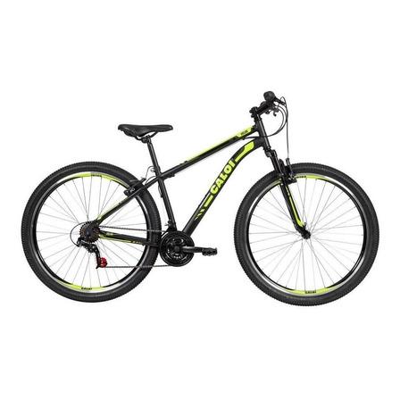 Mountain bike Caloi Sport Hardtail Velox 2020 aro 29 M 21v freios v-brakes câmbios Caloi Indexado cor preto
