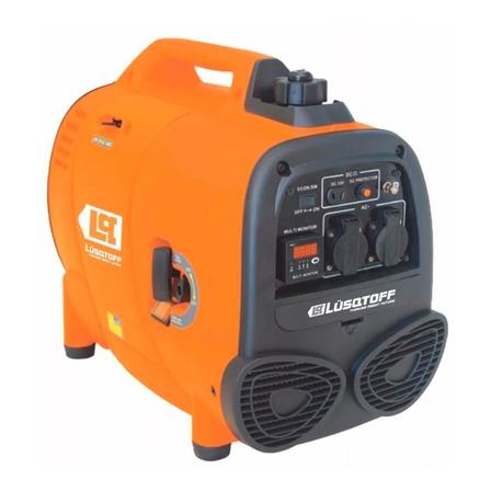 Generador portátil Lusqtoff LGI1100 1100W con tecnología Inverter 220V