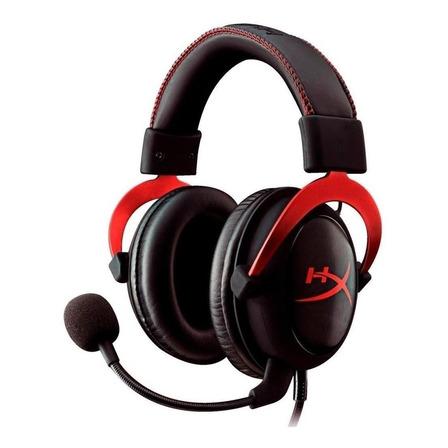 Fone de ouvido gamer HyperX Cloud II red