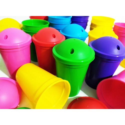Vasos Plásticos Milkshake Para Souvenirs X25