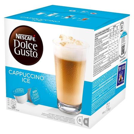 Cápsulas de café cappuccino ice Nescafé Dolce Gusto 16u
