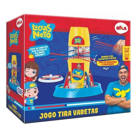 Jogo de mesa Tira Varetas Luccas Neto Elka