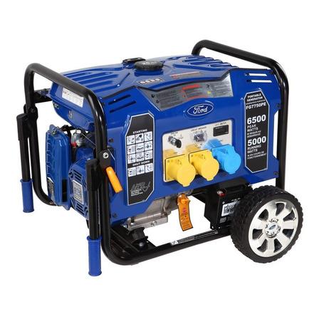 Generador portátil Ford FG7750PE 6500W monofásico con tecnología AVR 110V/230V