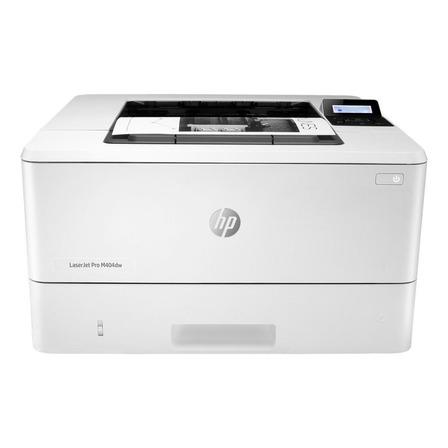Impressora função única HP LaserJet Pro M404dw com wifi branca 110V - 127V