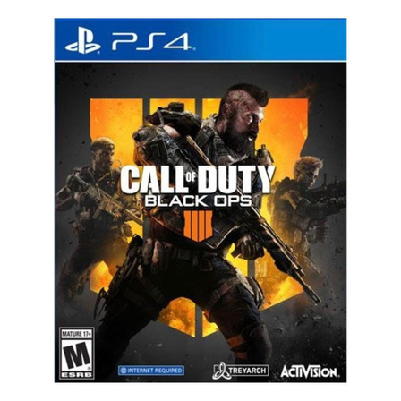 Call of Duty: Black Ops 4 Standard Edition Digital PS4 Actvision