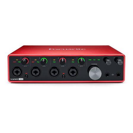 Interface de audio Focusrite Scarlett 18i8 100V/240V 3.ºra  gen