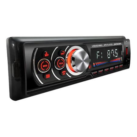 Estéreo para auto Panacom CA-5063 con USB, bluetooth y lector de tarjeta SD