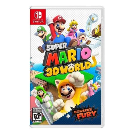 Super Mario 3D World + Bowser's Fury Nintendo Switch Físico