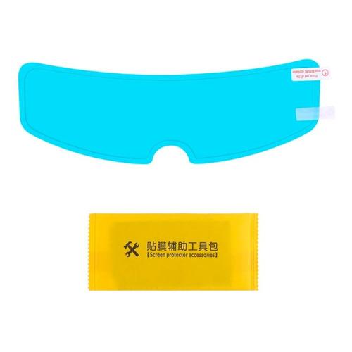 Pelicula Sticker Para Lluvia Casco Moto Mejor Visibilidad
