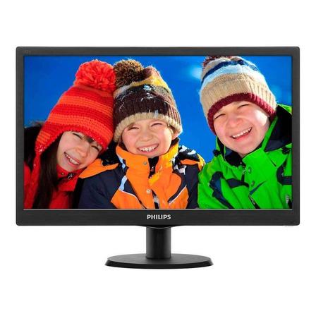 """Monitor Philips V 193V5LSB2 led 18.5"""" negro 100V/240V"""