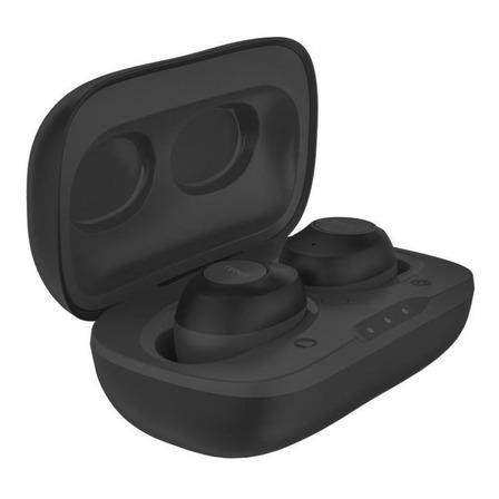 Audífonos in-ear inalámbricos Tedge TW901 negro con luz LED