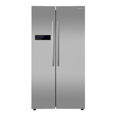 Heladera no frost Philco PHSB530XT  acero inoxidable con freezer 580L 220V