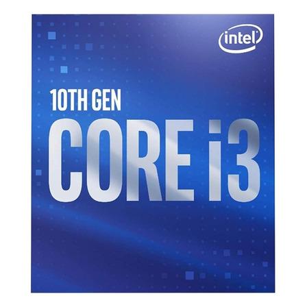 Procesador Intel Core i3-10100F BX8070110100F de 4 núcleos y 3.6GHz de frecuencia