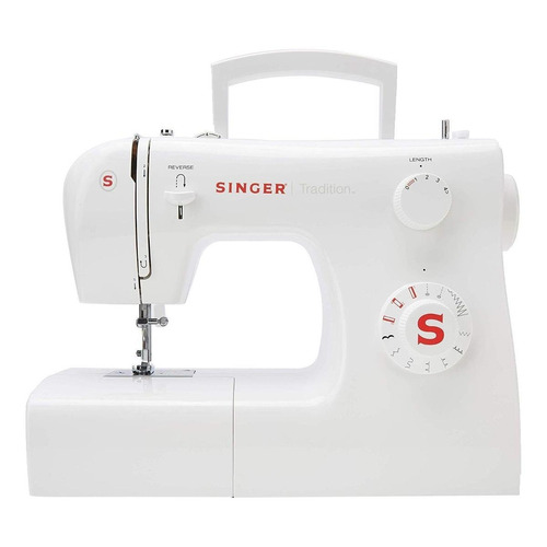 Máquina de coser recta Singer Tradition 2250 portable blanca 220V