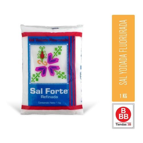 Sal Forte Yodada Fluorurada 1 Kg
