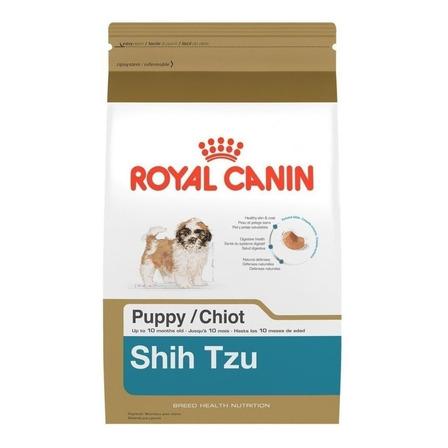 Alimento Royal Canin Breed Health Nutrition Shih Tzu para cachorro filhote de raça pequena sabor mix em saco de 2.5kg