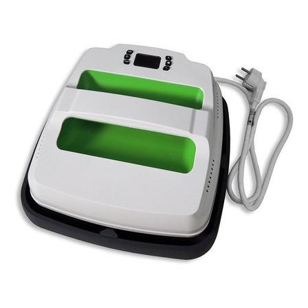 Estampadora sublimadora manual Policart Portatil  blanca y verde 110V/220V
