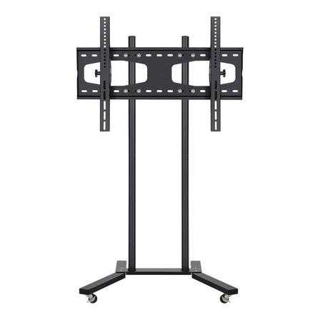 """Soporte Steren STV-150 de piso para TV/Monitor de 19"""" a 60"""" negro"""
