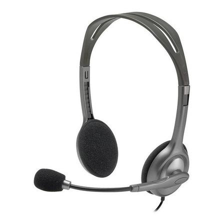 Audífonos Logitech H111 gris