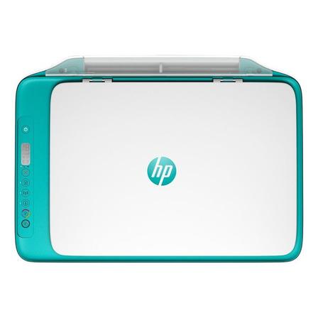 Impressora a cor multifuncional HP DeskJet Ink Advantage 2676 com wifi 100V/240V dreamy teal