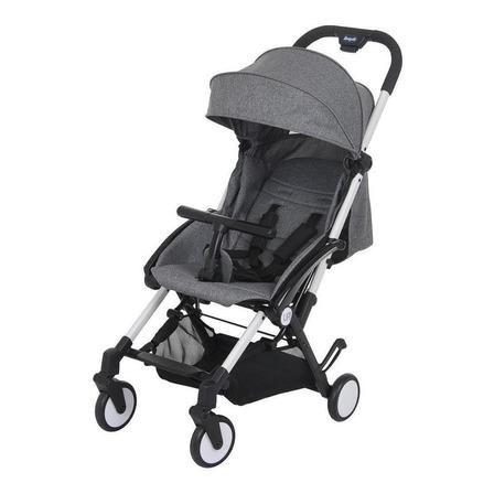 Carrinho de bebê Burigotto Up! de passeio gray com chassi branco