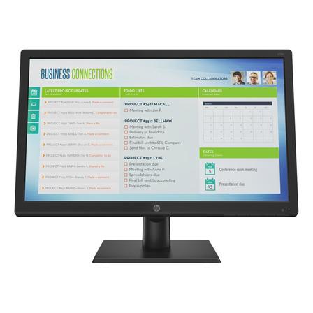 """Monitor HP V19B led 18.5"""" preto 100V/240V"""